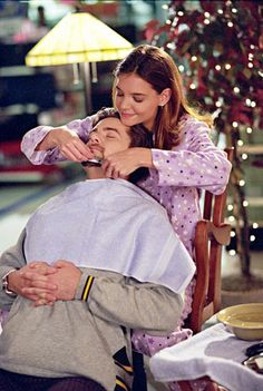 When Pacey & Joey got locked in Kmart----  I was so beyond happy that he finally shaved that thing off his face. Oh, and that he got back together with Joey too. :)