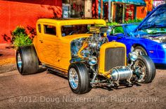 The Good Times Car Show was held at Bancraft Park in Old Colorado City on Sunday, August 19, 2012.