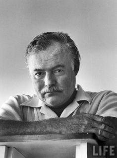 Portrait of author Ernest Hemingway, Cuba 1952. — Image by Alfred Eisenstaedt