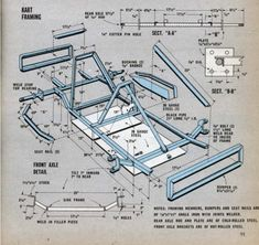 Gokart Plans 638737159626921835 - Go-Cart plans Go Kart Frame Plans, Go Kart Plans, Build A Go Kart, Diy Go Kart, Go Kart Designs, Kart Cross, Homemade Go Kart, Bike Cart, Go Kart Buggy