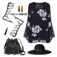 Black Tulip by barngirl on Polyvore featuring polyvore, fashion, style, Bobbi Brown Cosmetics, H&M and clothing