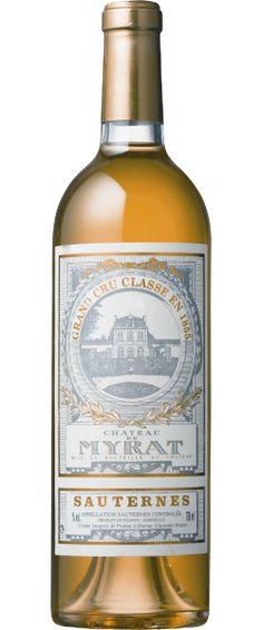 Château de Myrat 2010 : Ample en attaque, Myrat est un vin généreux avec une jolie matière, un bon volume et une finale un peu caramel.    En savoir plus : http://avis-vin.lefigaro.fr/vins-champagne/bordeaux/sauternais/sauternes/d14459-chateau-de-myrat/v14460-chateau-de-myrat/vin-blanc/2010#ixzz2Qo264lWc