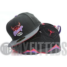 1090f40839e Mix-N-Mash  Chicago Bulls Black Carbon New Era Hat   Red Air Jordan Raptor  7 on In Flex We Trust – Check out todays mix-n-mash Featuring the New Era…