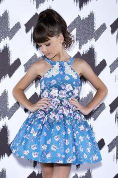 Vestido Miss Cake Moda Infanto Juvenil 510334