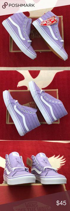 eb295a62cd Vans Sk8-Hi Slim Lavenders  The Sk8-Hi Slim