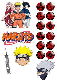 Naruto Party Ideas, Bolo Naruto, Naruto Birthday, Lol Doll Cake, Shark Party Decorations, Anime Cake, Cake Logo, Lol Dolls, Baby Shark