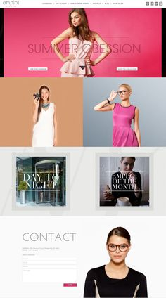 Fashion website for inspirations