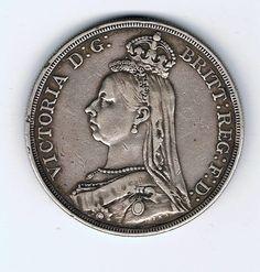 Victoria crown 1887 Coins, Victoria, Rooms