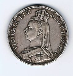 Victoria crown 1887 Coins, Victoria, Coining, Victoria Falls