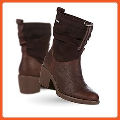 EMU Australia Cooma Womens Deluxe Wool Heel/Wedge Waterproof Fashion,Brown,7 B(M) US - Boots for women (*Amazon Partner-Link)