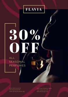 Perfumes Sale with Woman Applying Perfume — Create a Design Creative Posters, Creative Ideas, Perfume Sale, Online Posters, Poster Ideas, Sale Poster, Future Fashion, Flyers, Aesthetic Wallpapers