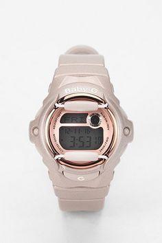 G-Shock Baby G Pink Champagne Watch $100