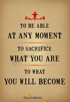 Sacrifice what you are Eric Thomas by MotivationShop on Etsy