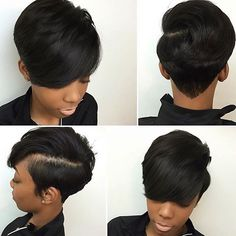 YES! @hairbylatise ✔️ #thecutlife #ATLstylist #shorthair #bangs #style Latise is also listed in our directory, are you?! www.thecutlifedirectory.com