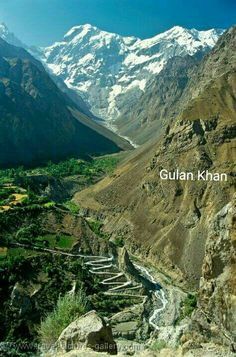 Beauty of Hunza valley, Gilgit Baltistan Pakistan