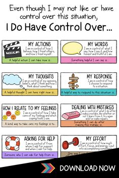 Therapy Worksheets, Therapy Activities, Book Activities, Mindful Activities For Kids, Mental And Emotional Health, Social Emotional Learning, Brain Based Learning, Behavior Management, Classroom Management