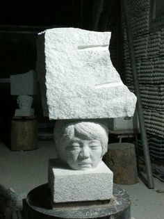 삶3 화강암(영주석) 80cm