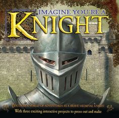 GERRY G349: Imagine You're a Knight by Phillip Steele  This heavily illustrated book takes children on an imaginary journey to medieval Europe, where knights swore oaths of loyalty to their lords and lived according to the rules of chivalry. Dramatic full-color spreads on every page show and describe the typical knight--his armor, his weapons, his helmet, his horse, and his activities.