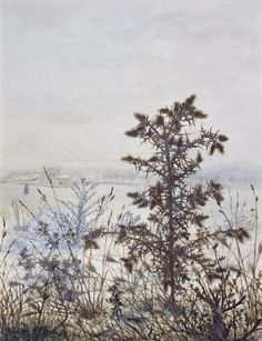 Leon Bonvin Thistles and Weeds,1864