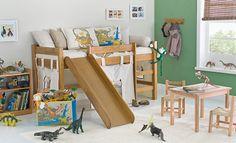 Quarto infantil Tok  Solte a imaginação ao preparar o quarto dos meninos para momentos de conforto e diversão!