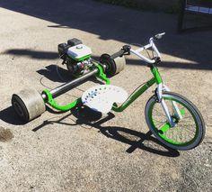 Bike Drift, Drift Trike Frame, Trike Scooter, Trike Motorcycle, Drift Kart, Drift Trike Motorized, Go Kart Frame, Go Kart Plans, Custom Trikes