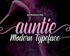BrithosFontType on Etsy Ttf Fonts, Handwritten Fonts, Calligraphy Fonts, Lettering, Script Font Style, Modern Script Font, Modern Typeface, Type Setting, Premium Fonts