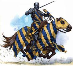 1200 - 1299 Cruzado teutònico siglo XIII