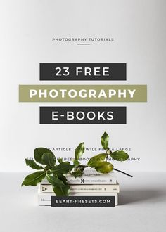 Free Books About Photography In this article, you will find a large selection of free e-books about photography. In this article, you will find a large selection of free e-books about photography. Hobby Photography, Headshot Photography, Free Photography, Photography Lessons, Photography Backdrops, Photography Tutorials, Creative Photography, Digital Photography, Amazing Photography