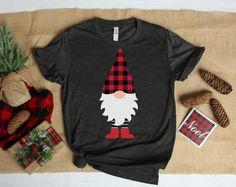 Christmas Crafts For Gifts, Christmas Gnome, Christmas Pajamas, Christmas Shirts, Ugly Christmas Sweater, Christmas Ideas, Xmas Shirts, Diy Shirt Printing, Homemade T Shirts