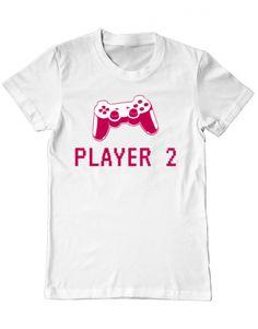 Tricou Tricou Player 2 Mens Tops, T Shirt, Clothes, Design, Fashion, Supreme T Shirt, Outfits, Moda, Tee Shirt
