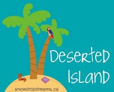 Deserted Island: Erika from Suddenly Books and One A Day YA