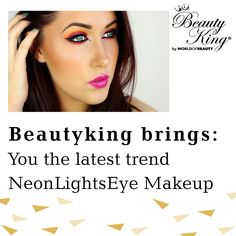 #BeautyKing brings you the latest trend #NeonLightsEyeMakeup https://www.youtube.com/watch?v=AofNUdoL3Y4 #beautylook #Style #Eyemakeup #lookgood #mondaymotivation