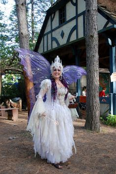 Michigan Renaissance festival - great wings! Also pretty sure I've seen her at the GVSU festival before too.