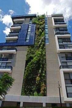 vertical garden building - Google Search