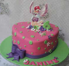 Winx Club Tecna Cake