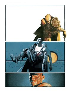 """heysawbones: """" … A selection of Travis Charest's comic pages. his composition is WOW WOW """" Gravure Illustration, Illustration Art, Comic Artist, Artist Art, Travis Charest, Character Art, Character Design, Comic Layout, Graphic Novel Art"""