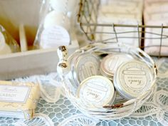 Treat your hands to a lotion bars from Natural Joy.