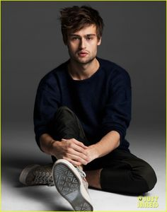 Douglas Booth, most known for Romeo and Juliet, Pride and Prejudice and Zombies, Jupiter Ascending, and Great Expectations