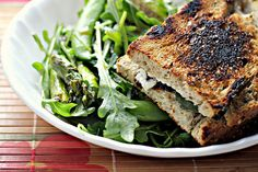 Look at this Grilled Goat Cheese sandwich from one of my favorite chefs, Marcus Samuelsson