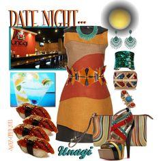 """DATE NIGHT: SUSHI, SAKE & COCKTAILS!!"" by enjoyzworld on Polyvore"
