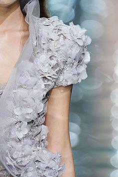 Elie Saab fashion details
