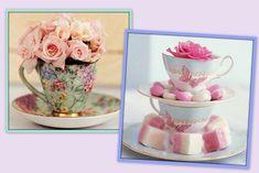 decoração rustica com bules e flores - Pesquisa Google