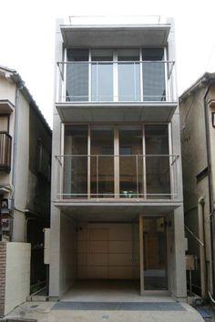 設計工房/Arch-Planning Atelier/RC造地下付き狭小住宅
