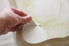 Tips for painting furniture with laminate tops. Awesome!