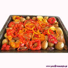 Hähnchenschenkel mit Kartoffeln vom Blech - Hähnchenschenkel vom Blech sind einfach und köstlich laktosefrei glutenfrei
