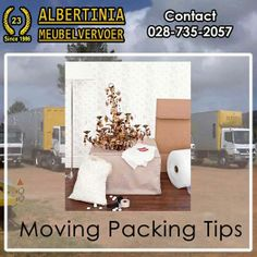 Albertinia Meubel Vervoer is a company which prides itself on delivering a. Free Quotes, Packing Tips, Boxes, Shapes, How To Plan, Crates, Box, Cases, Travel Packing Tips