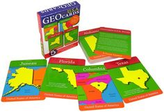 Geotoys Geocards USA