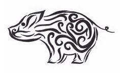 Tribal pig - Bing Images