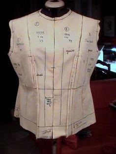 Chanel jacket / canvas / rework / version 3