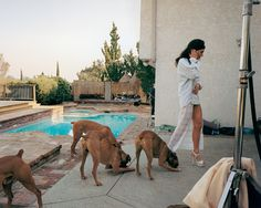 There is a perfectly calibrated ambiguity to Sultan's work that opens it up to narrative speculation. Carnal plots and subplots nag at the viewer, even when no one in the photo is naked or having sex. By Bernard Cooper, Excerpt from Los Angeles Magazine, March 2002 Sex and work aren't words you'd use in the …